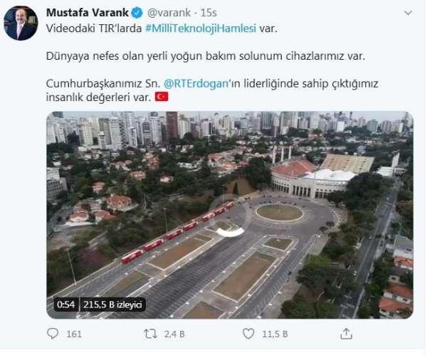 Türk solunum cihazları Brezilya'ya nefes olacak