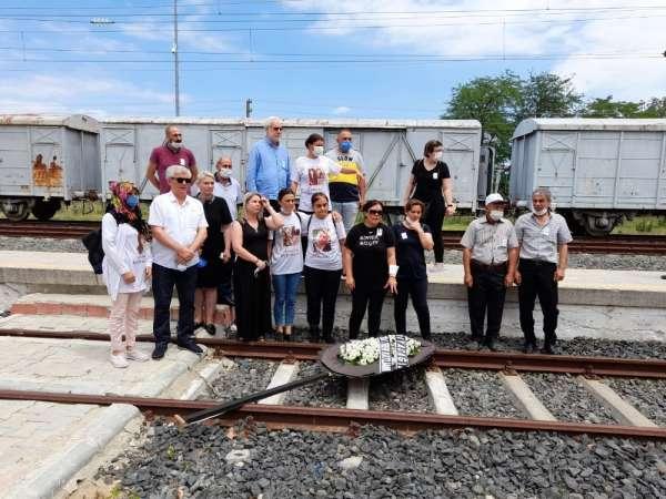 8 Temmuz tren kazasında ölenler Uzunköprü'de anıldı