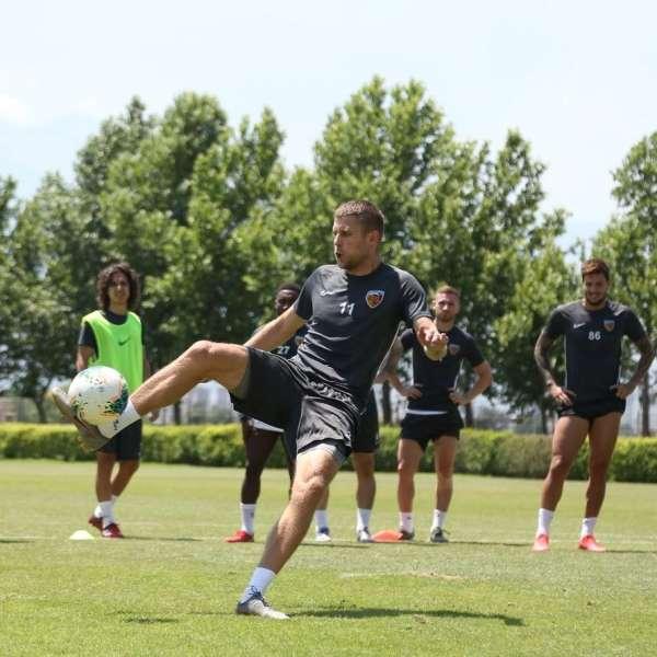 Kayserispor, Rizespor maçı hazırlıklarını tamamladı