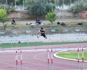 Büyükler olimpik deneme yarışları ve U18 ferdi bölgesel atletizm şampiyonası son