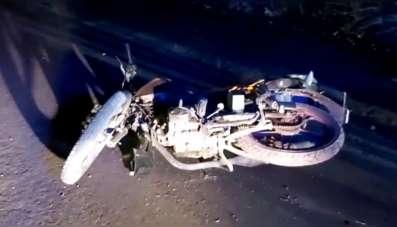 Tunceli'de motosiklet kazası: 2 yaralı