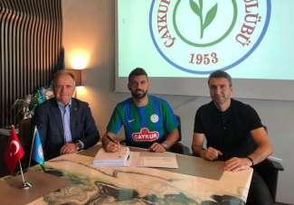 Çaykur Rizespor Selim Ay ile 2 yıllık sözleşme imzaladı
