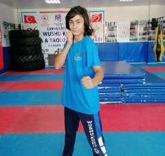 Yunusemreli wushucudan yaşıtlarına 'spor yapın' çağrısı