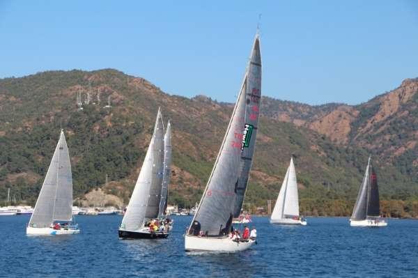 11. Burhanettin Tekdağ Yıl Sonu kupası Yelkenli yat yarışları bitti