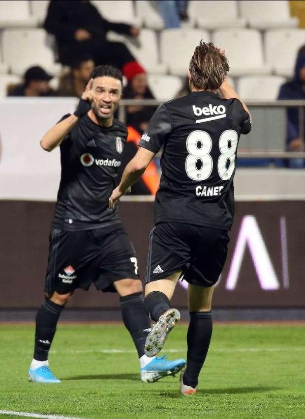 Beşiktaş ilk kez geriden gelip kazandı