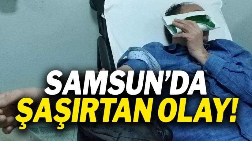 Samsun'da şaşırtan olay!