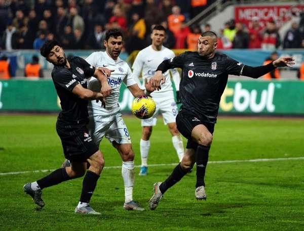 Süper Lig: Kasımpaşa: 2 - Beşiktaş: 3 (Maç sonucu)