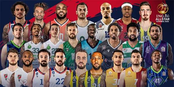 ING All Star 2020'de yer alacak basketbolcular belli oldu