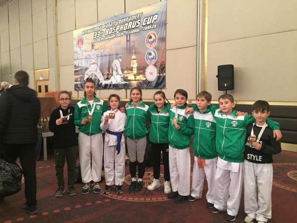 Mustafakemalpaşa Belediyespor Karate Takımı 2020'de de iddialı