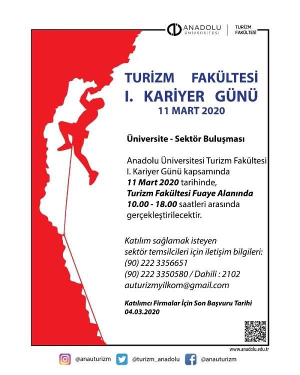 Anadolu Üniversitesinde '1'inci Kariyer Günü' etkinliği