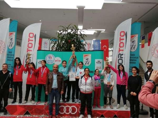 Aydınlı sporculardan iki Türkiye Şampiyonluğu