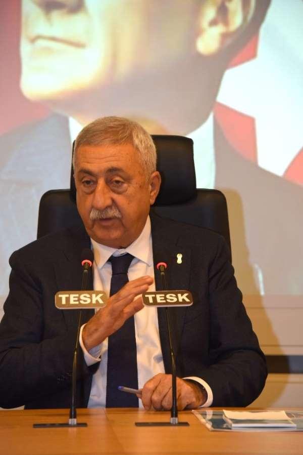 TESK Başkanı Palandöken: 'Petrol fiyatlarındaki düşüş acilen pompaya yansıtılmal