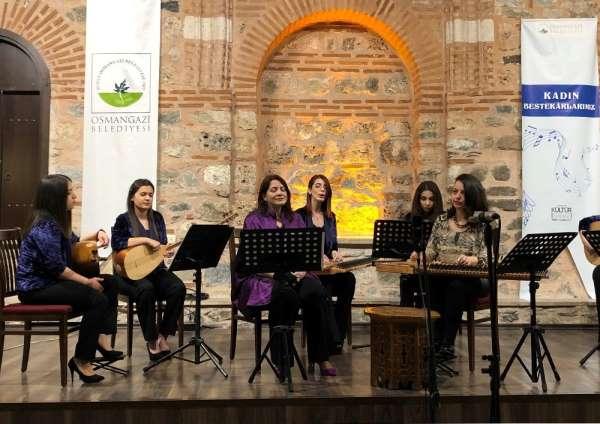 Osmangaziden kadınlar günü konseri