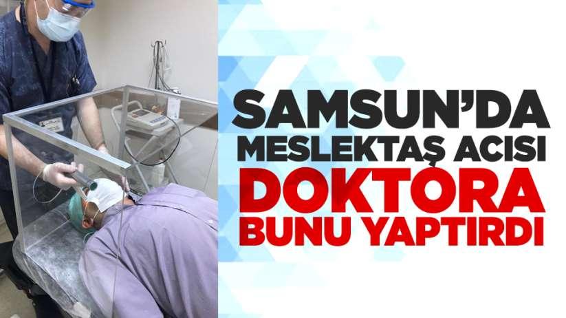 Samsun'da doktor tasarladı! Meslektaş acısı bunu yaptırdı