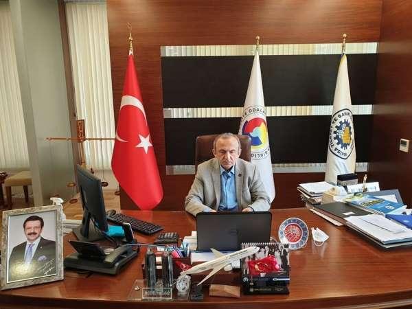 Başkan Yılmaz TOBB Toplantısına katıldı