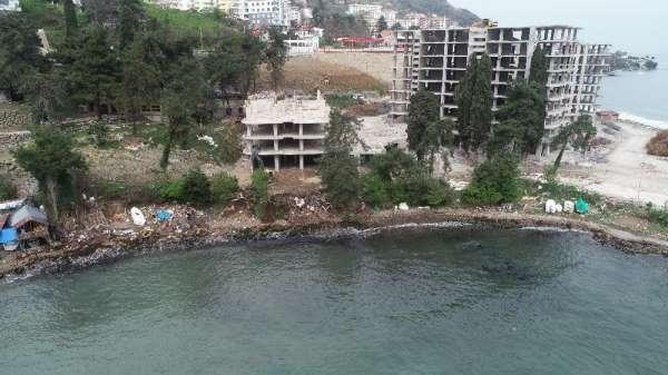 Ordu'da yıkılan gökdelen alanı halkı açılıyor