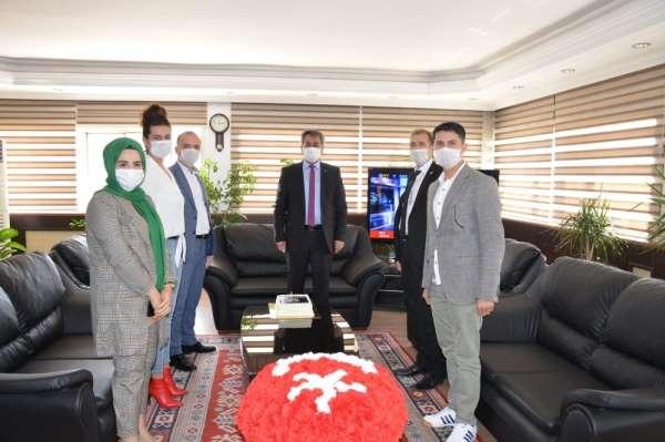 Şehit aileleri ve gazilerden Batman Emniyet Müdürü Kıraç'a ziyaret