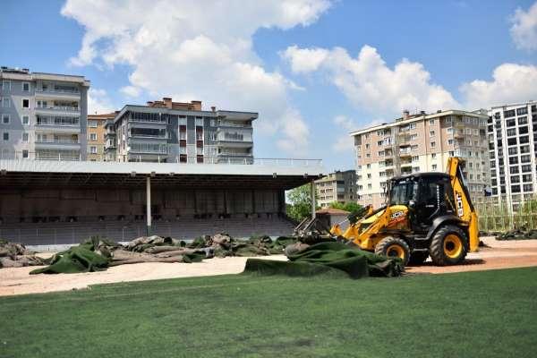 Fidyekızık Spor tesisleri yenileniyor