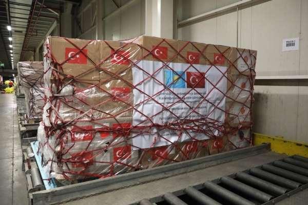 MSB: 'Covid-19 ile mücadelede kullanılacak olan tıbbi yardım malzemeleri Kazakis