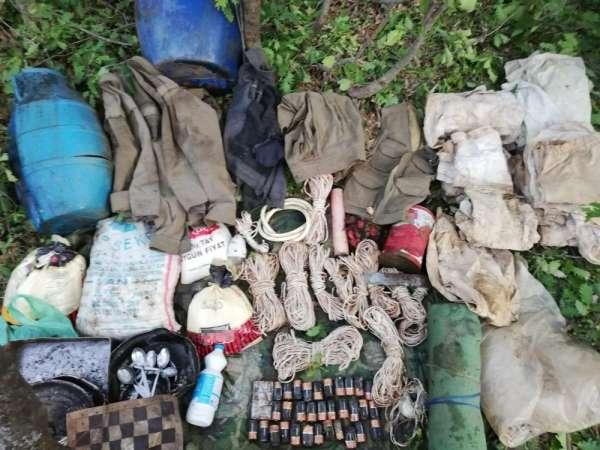 Bitlis'te terör örgütüne ait sığınak tespit edildi