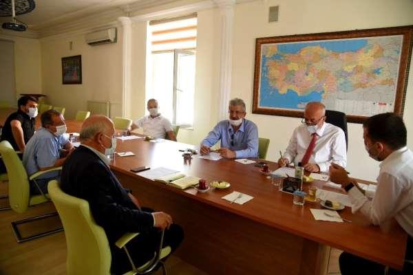 Dursunbey OSB Yönetimi Toplandı