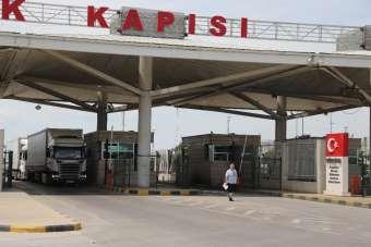 Kapıkule Sınır Kapısı'nda ihracat yoğunluğu