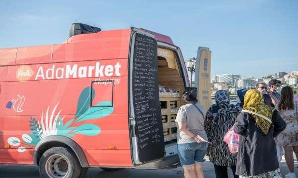 Kuşadası'nda üretici ile tüketiciyi aracısız buluşturan 'AdaMarket Expres' hizme