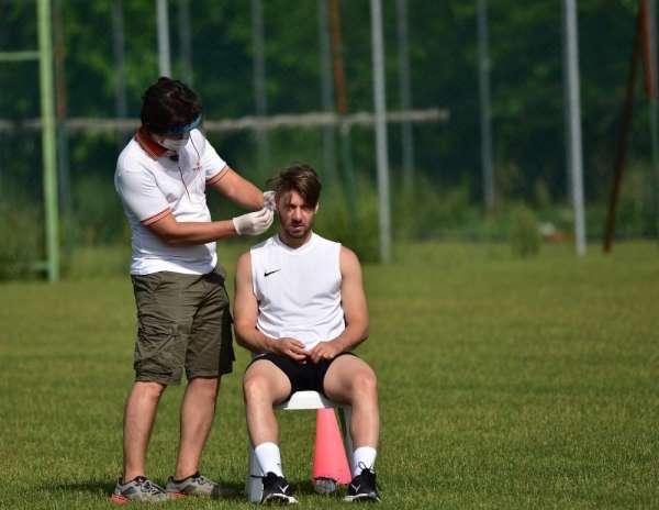 Manisa FK futbolcuları laktat testinden geçti