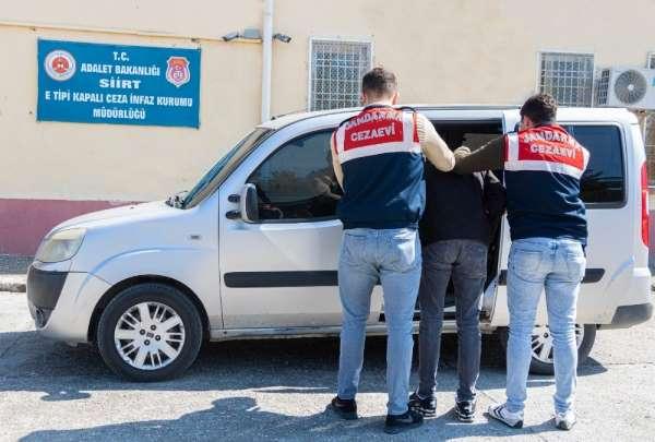 Siirt'te PKK'lı teröristlere yardım eden şahıs tutuklandı