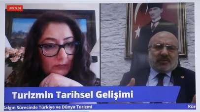 Kayseri Üniversitesi Rektörü Karamustafa, turizmi anlattı