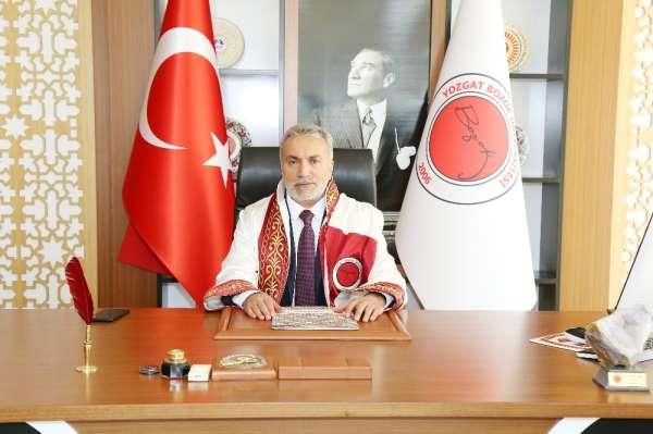 Rektör Karadağ, 'Diş hekimliği fakültesi Yozgat için önemli bir kazanım'