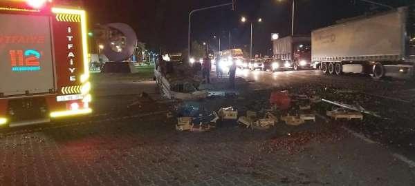 Edremit'te kaza: 1 yaralı