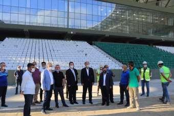 Giresun Çotanak Spor Kompleksi'nde sona gelindi