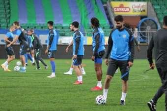 Çaykur Rizespor, Fenerbahçe hazırlıklarını Çaykur Didi stadında sürdürdü