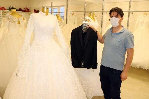 Düğünlere getirilen kısıtlama gelinlik satışlarını vurdu