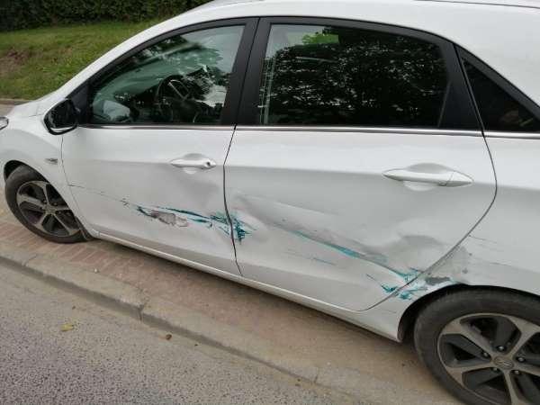 Polonya'da 100 yaşındaki sürücü trafik kazası yaptı