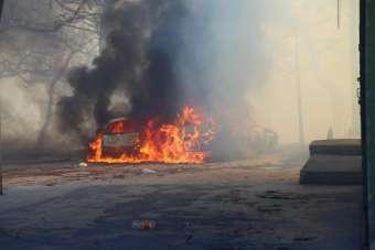 Hatay Valiliği: 'Yangın, trafo patlaması sonucu çıktı'