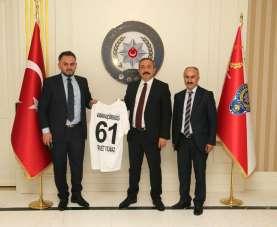 Keçiörengücü'nden Ankara İl Emniyet Müdürü Yılmaz'a ziyaret