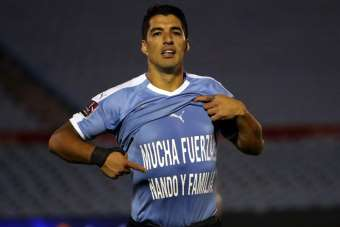 Luis Suarez'den Fernando Muslera'ya destek
