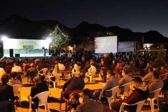 Terörün temizlendiği bölgede Uluslararası Siirt Kısa Film Festivali'nin finali y