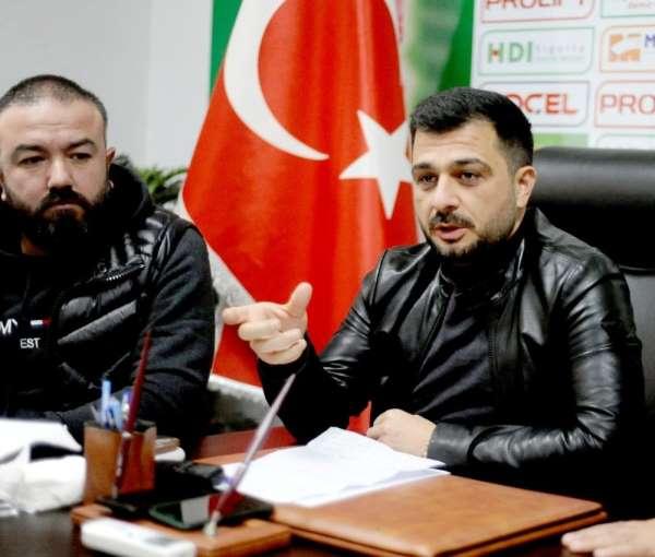 Giresunspor Kulüp Başkanı Sacit Ali Eren: 'Bizim bu galibiyetleri ve iyi oyunu s
