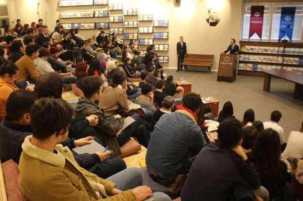 KGF Genel Başkanı İsmet Gergerli öğrencilerle buluştu