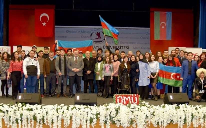 OMÜ'de Azerbaycan Tanıtım Günü