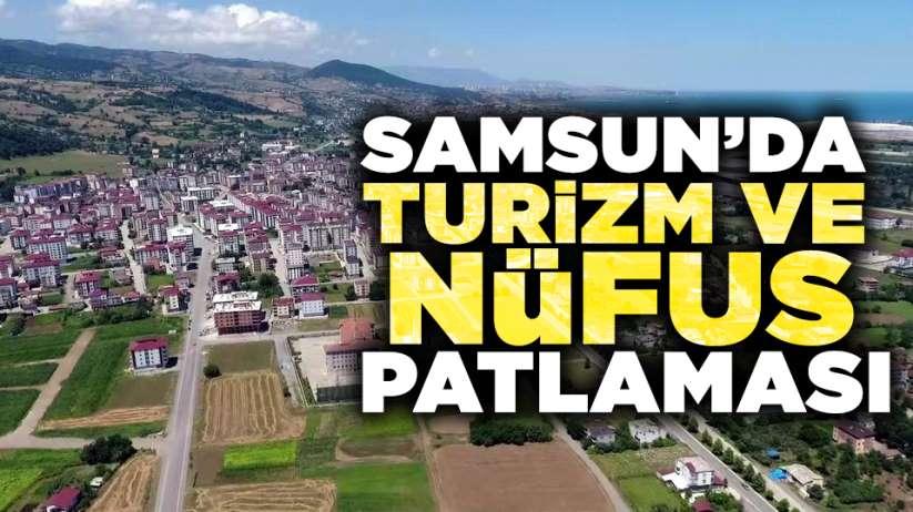 Samsun'da Turizm ve nüfus patlaması