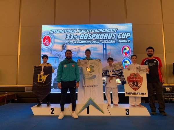33. Uluslararası Boğaziçi Karate Turnuvasında Van rüzgarı