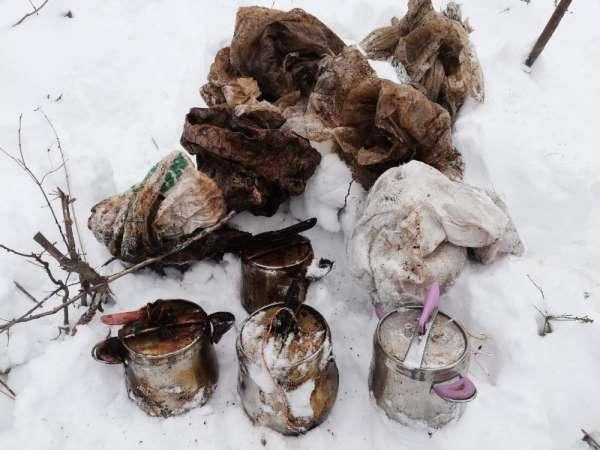 Bitlis'te terör örgütünce kullanılan 7 adet sığınak bulundu