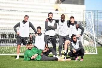 Denizlispor, Antalya'da son antrenmanın yaptı