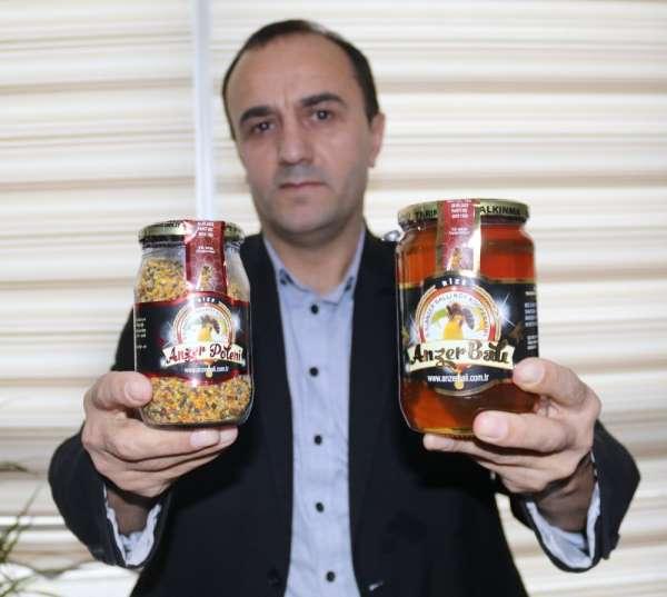 Kilogramı bin TL'den satılan Anzer Balı'nın bu yıl ki üretiminin yüzde 70'i satı