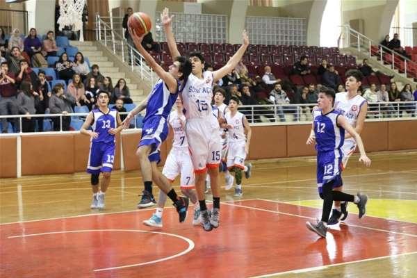 Okullar Arası Basketbol Genç Erkekler Müsabakaları yapıldı