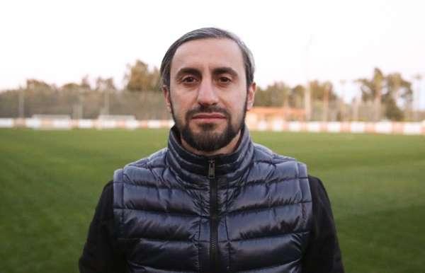 """(Özel Haber) Serkan Özbalta: """"Ligden ilk 2'de çıkabilmek adına elimizden gelen h"""